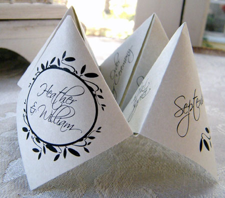 Wedding Place Cards Posted on October 28th 2010 by Indee