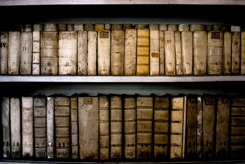 Antique Books Photography Print. Strahov, Prague