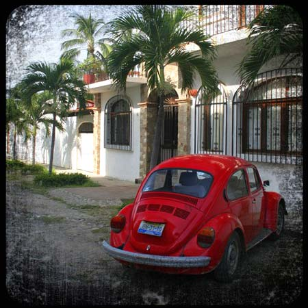 VW Beetle Photo Print