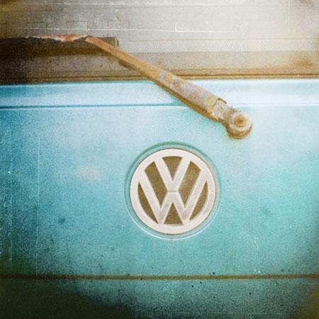 Vintage Volkswagen Photography Print