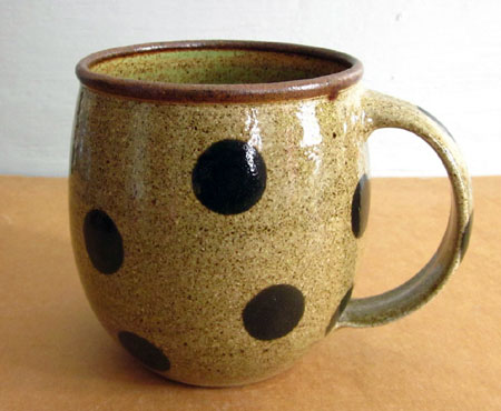 Polka Dot Coffee Mug