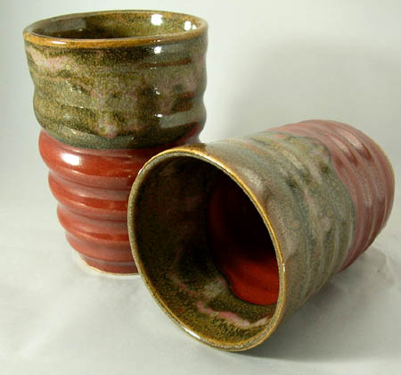 Hand Thrown Stoneware Cups