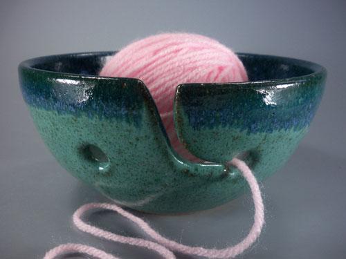 Stoneware Yarn Bowl