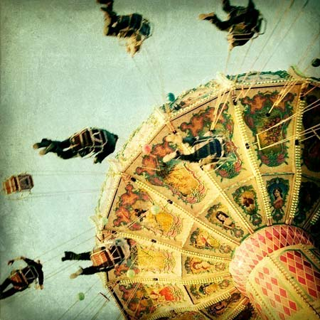 Yo-Yo Swing Ride Print