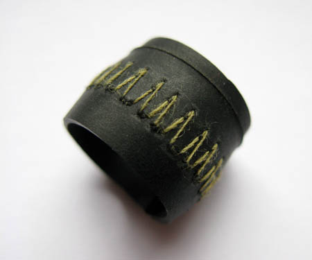 Recycled Bicycle Tire Rubber Ring