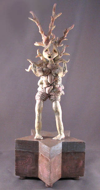 Petrified Ice Queen Sculpture