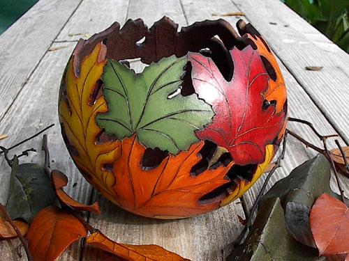 Gourd Leaf Bowl