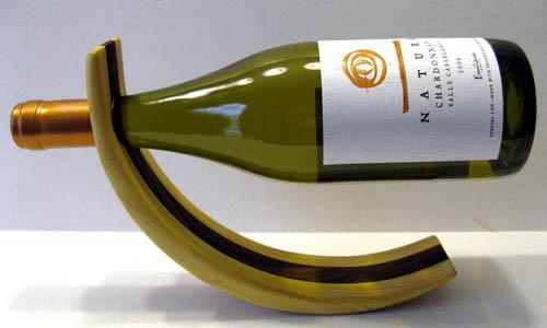Rodita Pine Balancing Wine Rack