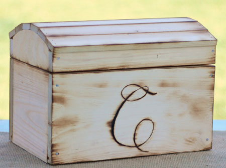Personalized Keepsake Chest