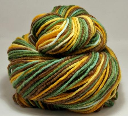 Hand-Dyed Peruvian Highland Yarn