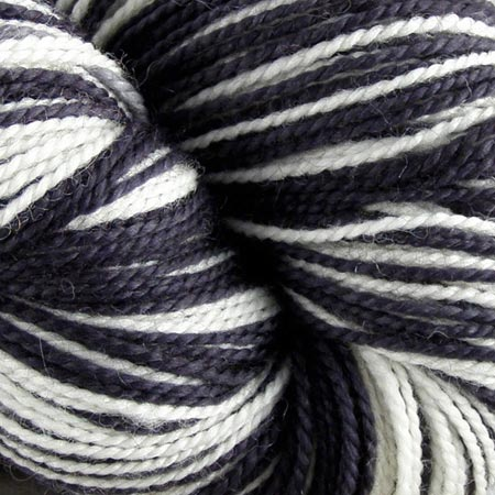 Black And White Merino Yarn